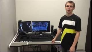 видео дешевые компьютерные столы