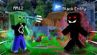 I Used the TRIDENT OF DARKNESS On the BLACK ENTITY in Minecraft! (Realms SMP EP51)