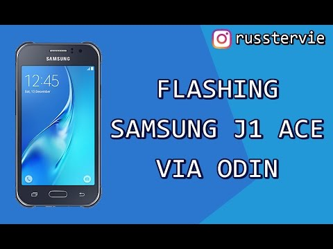 Flashing Samsung J1 Ace Via Odin Youtube