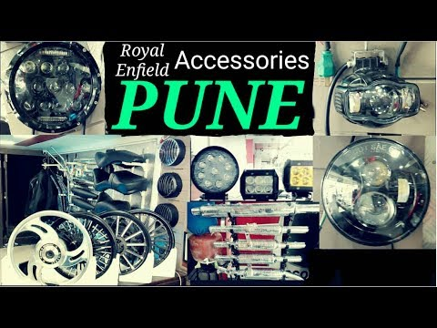 Cheap Royal Enfield/All Bike Accessories In PUNE | One Stop Shop For All |  HINDI