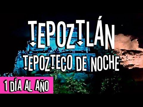 Que hacer en Tepoztlán, noche única en el año.