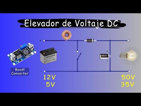 CONVERTIDOR ELEVADOR BOOST | Elevador de Voltaje