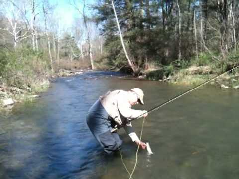 Brook trout on big fishing creek pa youtube for Fishing in pa