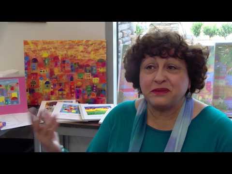 An Artist from Jerusalem Hosts a Mosaic Art Demonstration