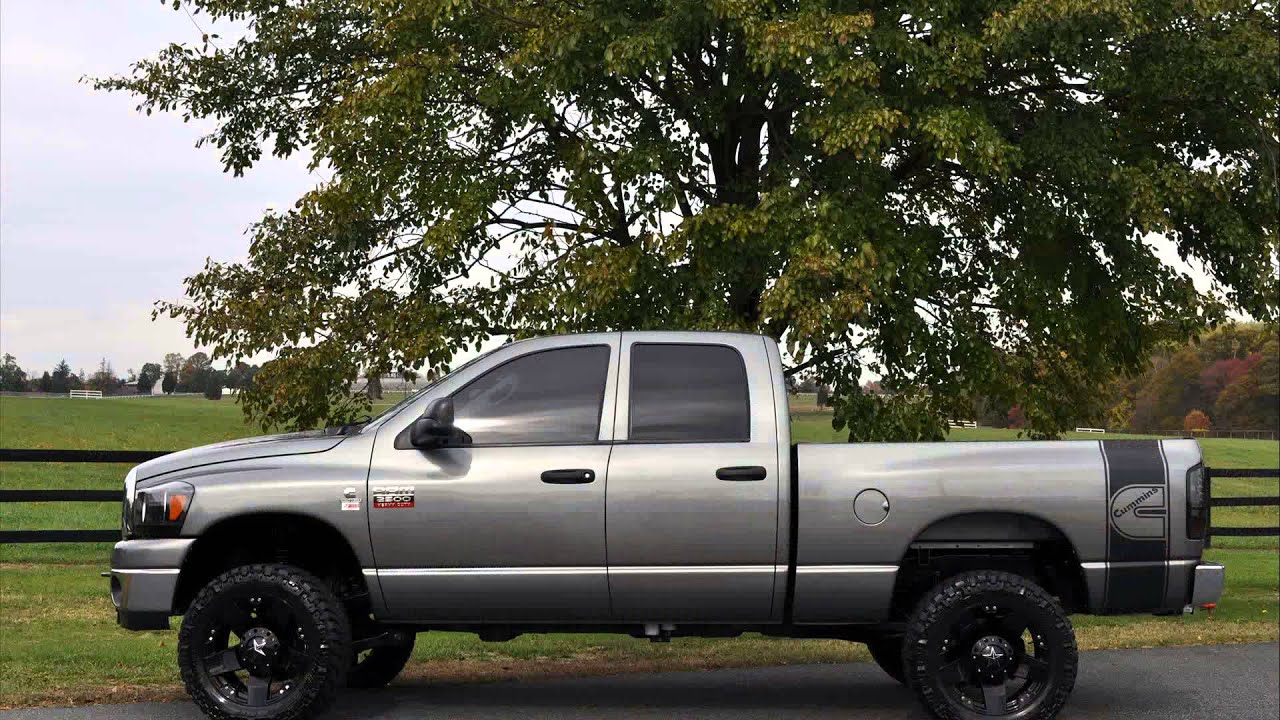 2008 dodge ram 2500 youtube. Black Bedroom Furniture Sets. Home Design Ideas