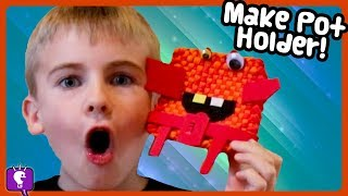 LOOM Art! How-To  We Hang It In Our NEW ROOMS, DIY Crafts with HobbyKidsTV
