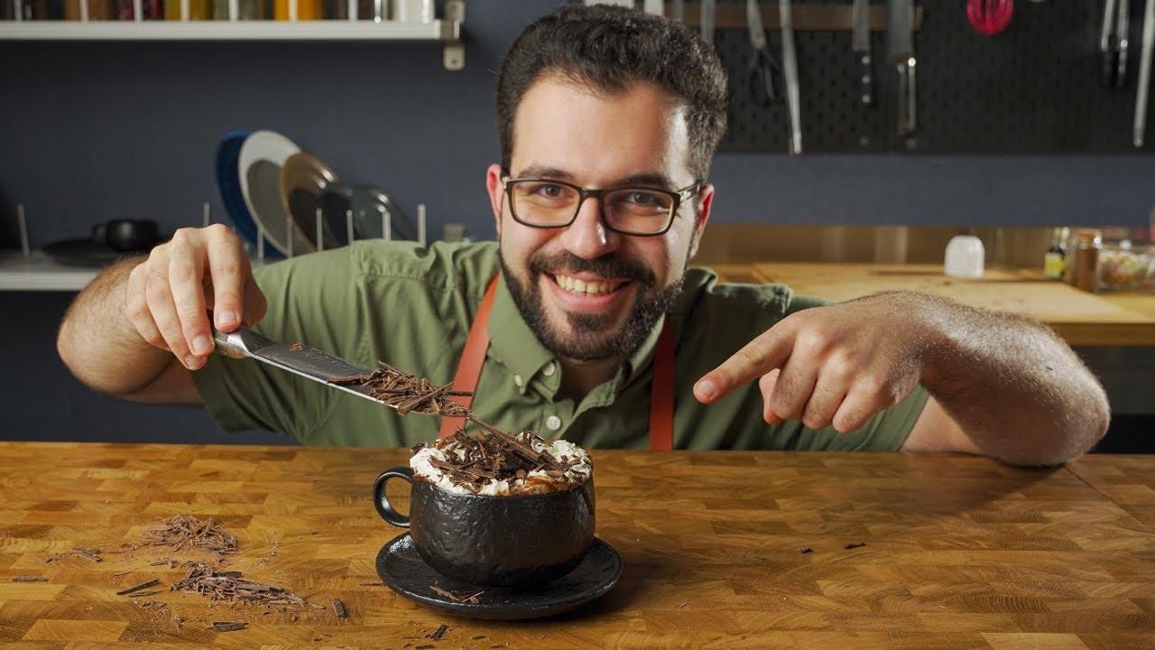 مشروب شوكولاتة ساخنة | شيف شاهين | Hot chocolate | chef shaheen