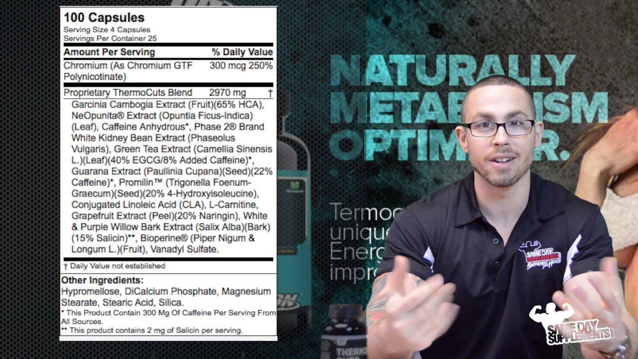 Optimum Nutrition Review Fat Loss