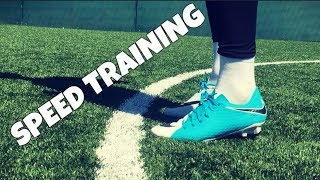 Speed and Fitness Training For Footballers/Soccer Players : Individual Drills