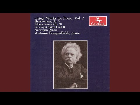 Peer Gynt Suite No. 1, Op. 46 (version for piano solo) : III. Anitras dans (Anitra's Dance) mp3
