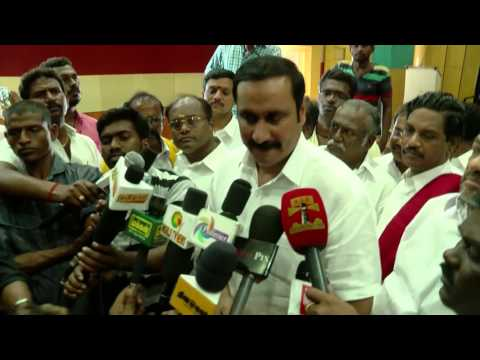 Local Body Election Will Not Be A Fair & Free Election In Tamil Nadu - Anbumani & Ramadoss