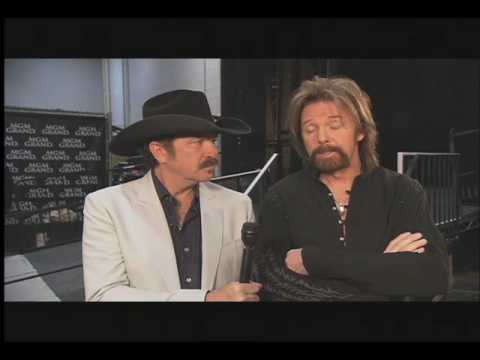 Brooks and Dunn- Backstage at George Strait: ACM Artist of the Decade Concert