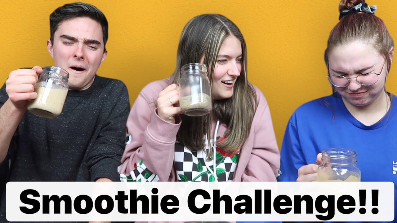 You Won't BELIEVE What We Ate!! (The Smoothie Challenge)