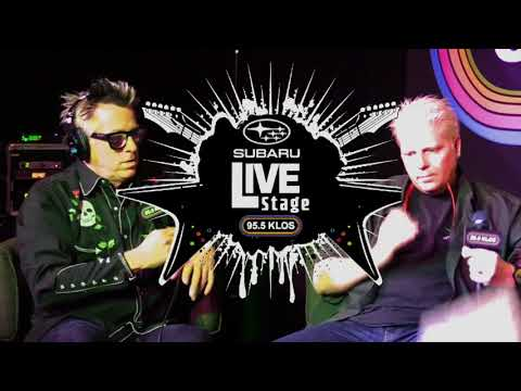 Dexter and Noodles of The Offspring from the Subaru Live Stage