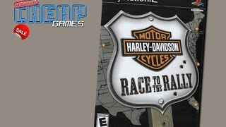 Cheap Games - Harley Davidson: Race To The Rally (PS2)