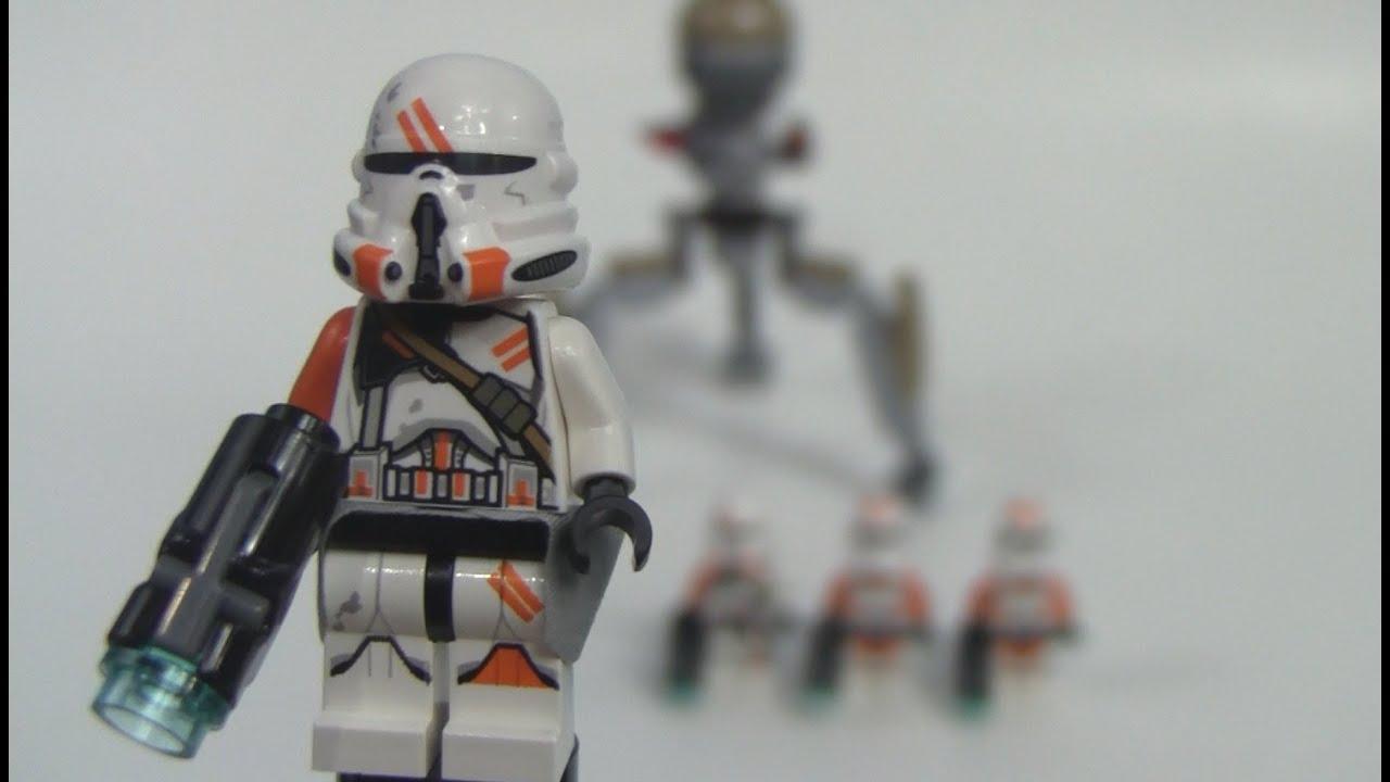 75036 Lego Star Wars Utapau Troopers Battle Pack Review ...