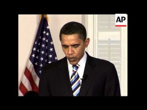 Senator Obama talks about Hillary Clinton's position on Iraq war