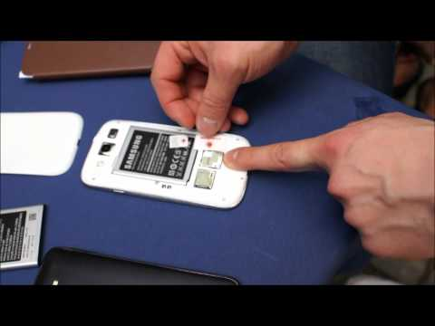 Samsung Galaxy S3 microSIM / SIM Karte