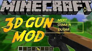 Minecraft 3D Silah Modu İndirme Kurma (KOLAY LİNK)