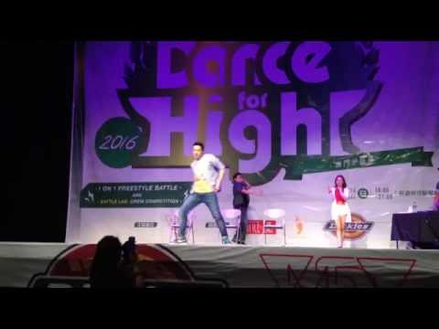 2016 Dance for Hight 澳門分區賽 judge solo 小陸 Bambi Lu --  Panda - Desiigner - Josh Levi & KHS Remix