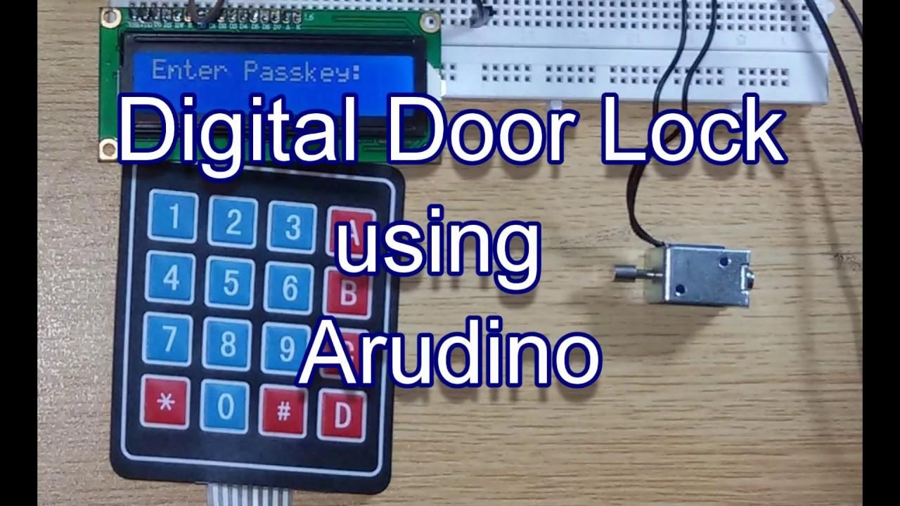 Make An RFID Door Lock With Arduino Diys Pinterest