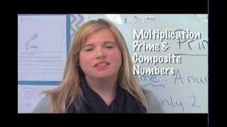 4th grade mathematics lesson 5 multiplication and prime vs composite numbers