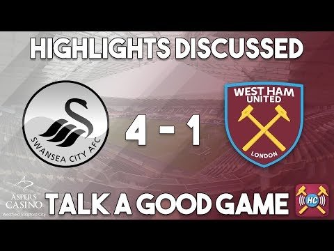 Swansea City - West Ham Utd highlights discussed | Live at full time
