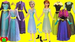 Disney Frozen Anna and Elsa Magnetic Fashion Mix and Match Surprises