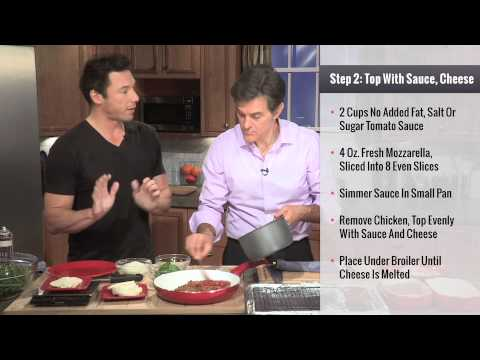 "Rocco DiSpirito - ""Oz Approved"" Chicken Parmesan"