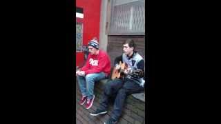 AMAZING SINGING DUO ON THE STREETS OF DUBLIN Singer/Rapper