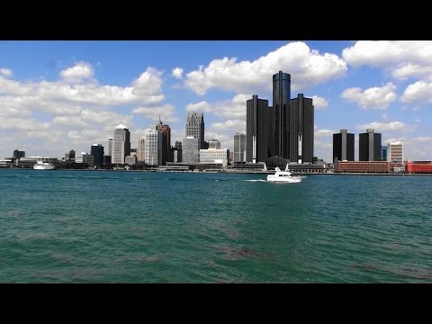 WELCOME TO DETROIT, MICHIGAN, USA