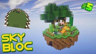 SkyBlock сезон 1 #5 Выполняем ачивки и строим место для животных