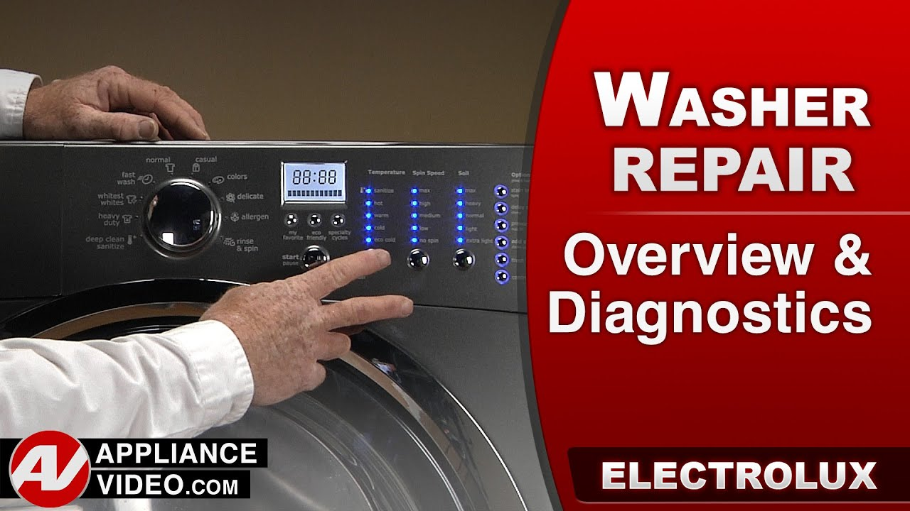 Electrolux Washer - Overview & Diagnostics