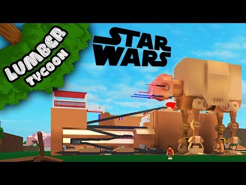 Lumber Tycoon 2: Insane STAR WARS Base!! | Roblox