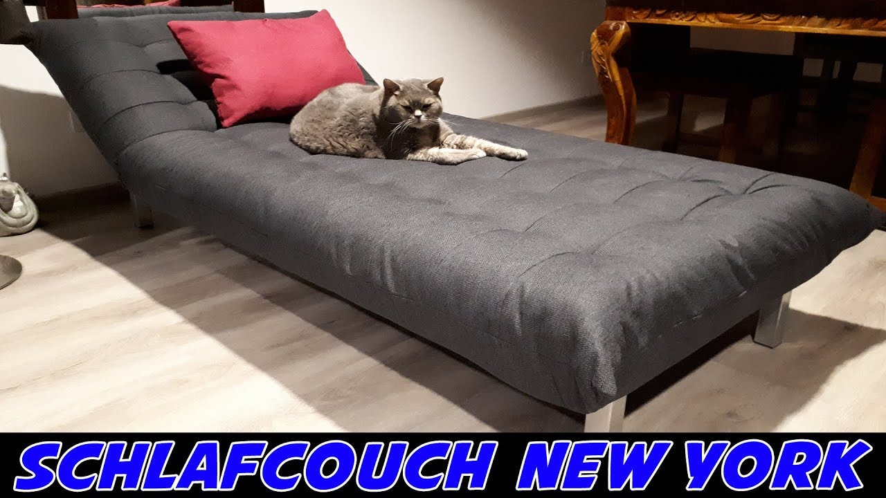 Schlafsofa new york chaiselongue youtube for Schlafsofa new york
