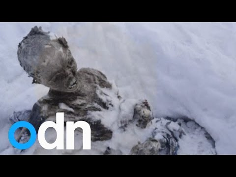 Mummified bodies found at peak of Mexico volcano could be missing climbers