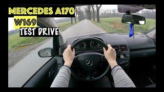 2004 Mercedes A170 W169 1.7 116hp | POV TEST Drive | Acceleration & FUEL Economy