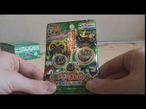 Yokai Watch: Yokai Medal Treasure Yorozu Festival Unboxing