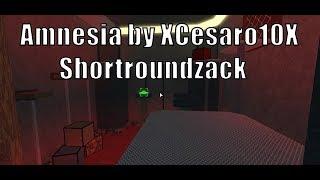 (Meio insano) Amnesia por XCesaro10X & Shortroundzach | Teste do mapa de Roblox a