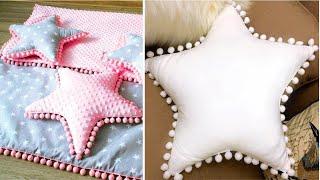 Aprenda a Fazer Almofada em Formato de Estrela