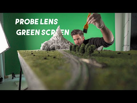 Probe Lens + Green Screen   Cinematic Macro Worlds   Behind The Scenes