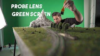 Probe Lens + Green Screen | Cinematic Macro Worlds | Behind The Scenes