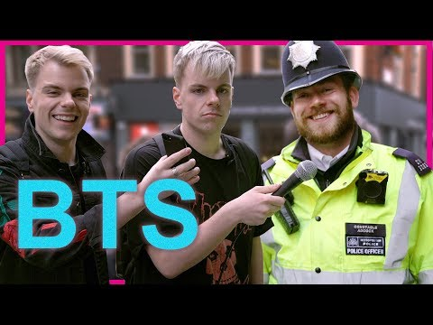 Londoners React to Kpop in public (BTS - DNA mv)