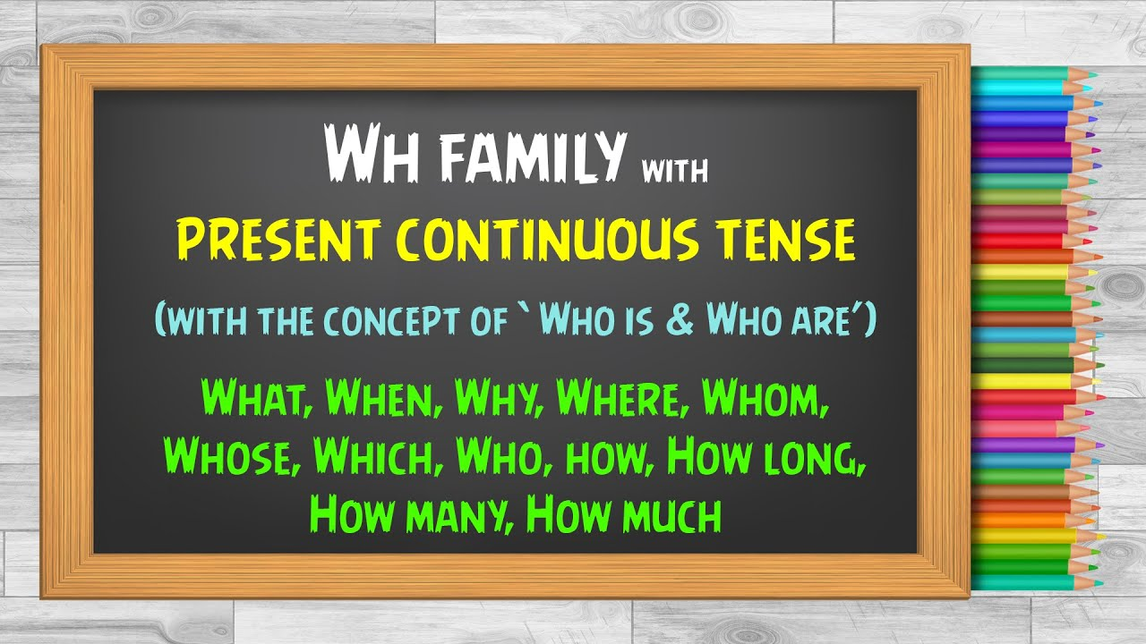 Wh questions in the present continuous tense (Urdu and Hindi)