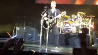Nickelback Budapest 2016 When We Stand Together Live