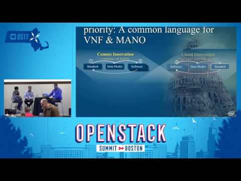 NFV Management and Network Orchestartion (MANO) Using OpenStack