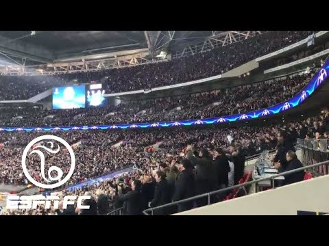 Inside Wembley Stadium during Tottenham's 3-1 Champions League win over Real Madrid | ESPN FC