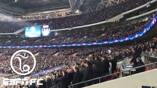 Video Inside Wembley Stadium during Tottenham's 3-1 Champions League win over Real Madrid | ESPN FC download MP3, 3GP, MP4, WEBM, AVI, FLV April 2018