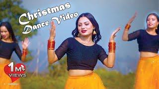 New Nepali Christmas Dance 2019   Christmas ko Chiso Mausam by SeemaSubarna