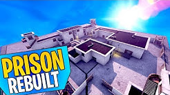Rebuilding The OLD PRISON From SEASON ONE In Fortnite Battle Royale